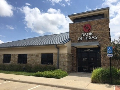 Bank of Texas 3200 Heritage Trace Pkwy Fort Worth TX exterior