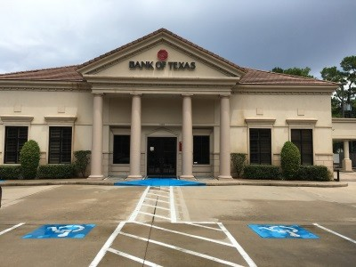Bank of Texas 12764 Memorial Drive Houston TX exterior