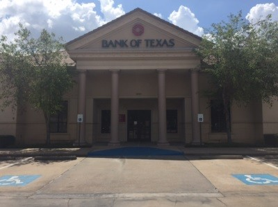 Bank of Texas 5500 Kirby Houston TX exterior