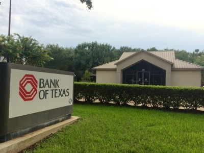 Bank of Texas 4555 Sweetwater Boulevard Sugar Land TX exterior