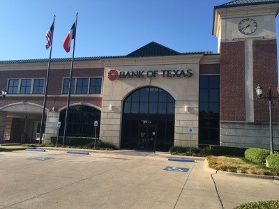 Bank of Texas 7600 W. Northwest Highway Dallas TX exterior